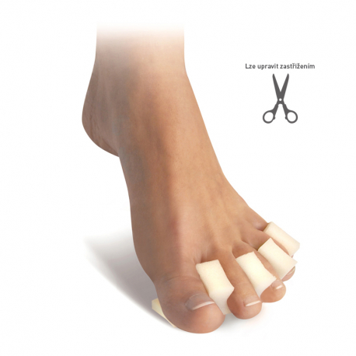 Podložka prstů - hřeben