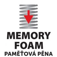 Stélky vkládací s paměťovou pěnou