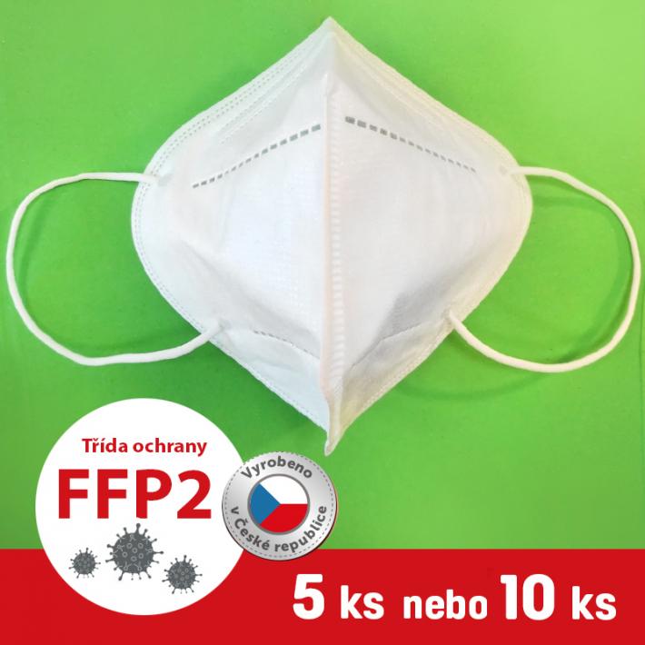 Respirátor / Filtrační polomaska FFP2