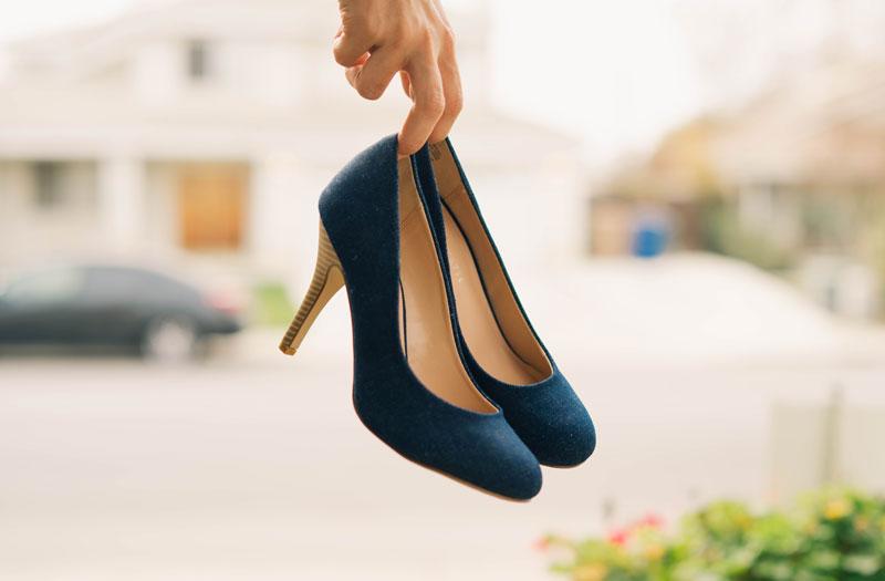 nevhodná obuv