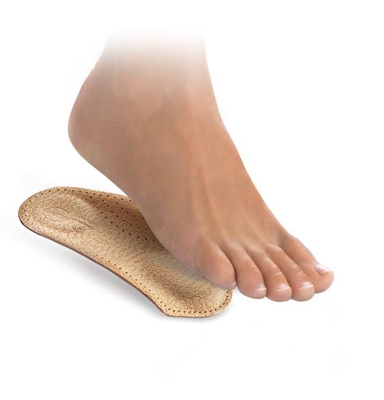 ortopedická vložka do úzkých bot